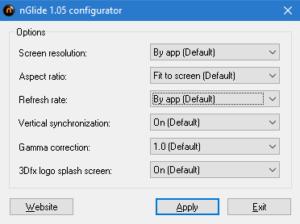 Настройка на nGlide конфигуратора