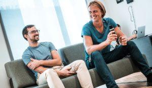 Съоснователите на Revolut Влад Яценко и Николай Сторонски. Снимка: Revolut / Handout чрез REUTERS